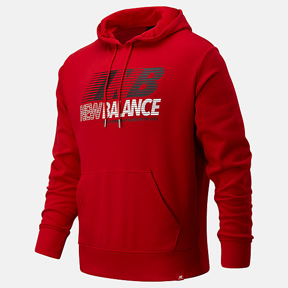 New Balance Essentials Speed Hoodie, MT03508REP