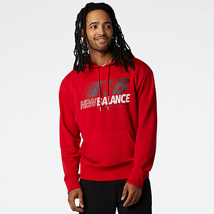 NB Essentials Speed Hoodie, MT03508REP image number null