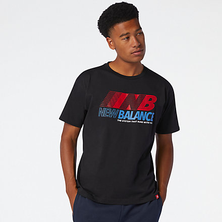 New Balance Essentials Speed Action Tee, MT03513BK image number null