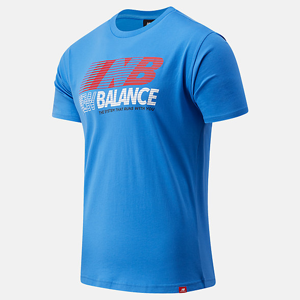 New Balance Essentials Speed Action Tee, MT03513FCB