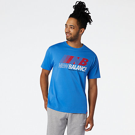 New Balance Essentials Speed Action Tee, MT03513FCB image number null
