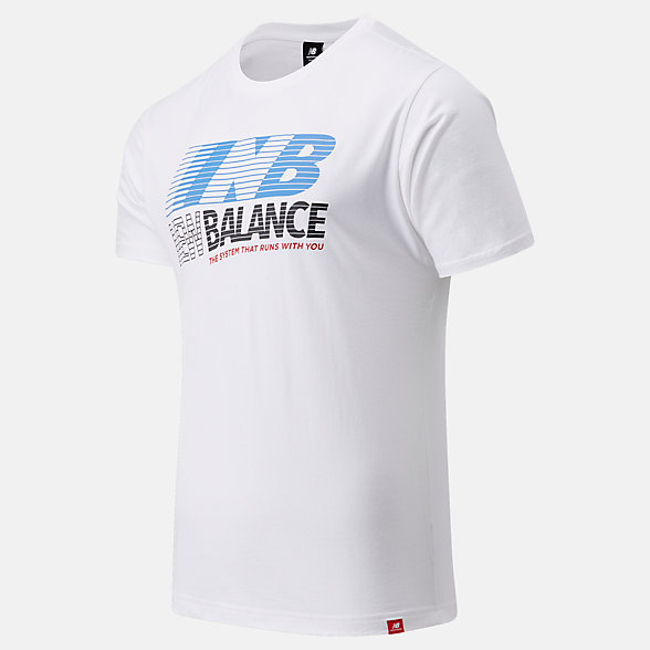 New Balance Essentials Speed Action Tee, MT03513WT