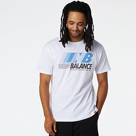 NB Essentials Speed Action Tee, MT03513WT image number null