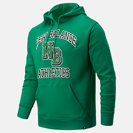 New Balance NB Athletics Varsity Pack Hoodie, MT03514VGN image number null