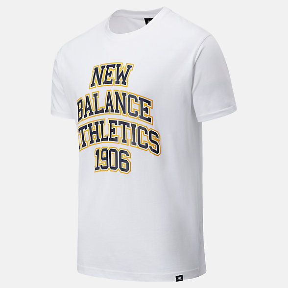 New Balance NB Athletics Varsity Spec Tee, MT03518WT