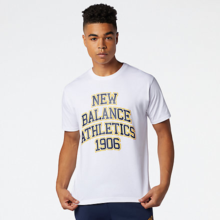 New Balance NB Athletics Varsity Spec Tee, MT03518WT image number null