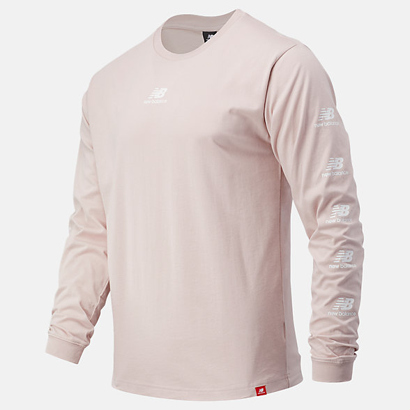 New Balance Essentials Stack Pack Long Sleeve Tee, MT03522SCI