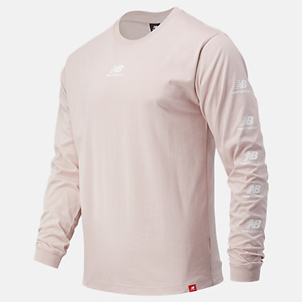 New Balance Essentials Stack Pack Long Sleeve Tee, MT03522SCI image number null