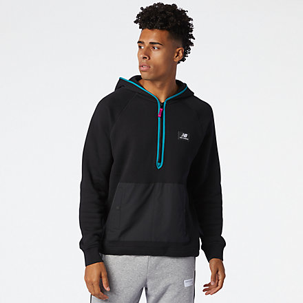 New Balance NB Athletics Terrain Hoodie, MT03531BK image number null