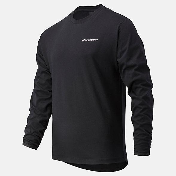 NB Sport Style Heavy Long sleeve top, MT03540BK
