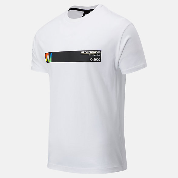 NB T-Shirt Sport Style Optiks Earth, MT03551WT