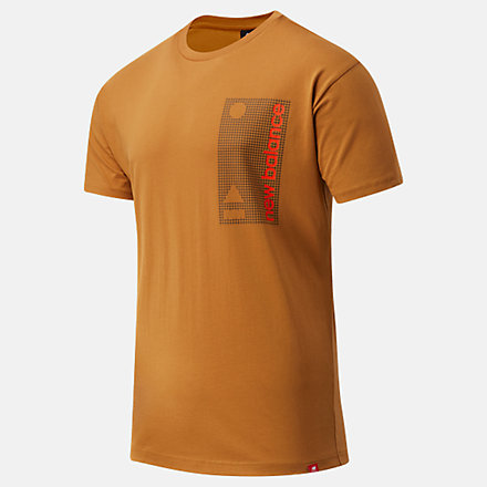 NB Essentials Terrain Grid Tee, MT03553WWK image number null