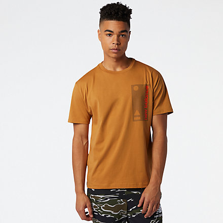 NB Essentials Terrain Grid T-Shirt, MT03553WWK image number null