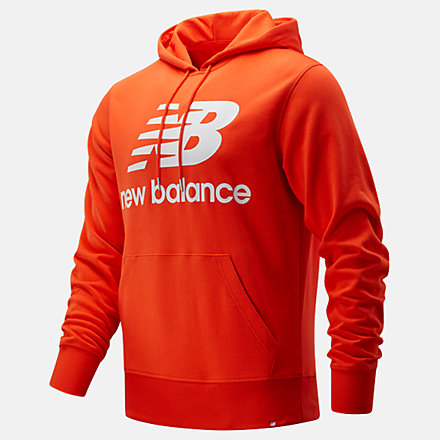 New Balance NB Essentials Stacked Logo Po Hoodie, MT03558BZ image number null
