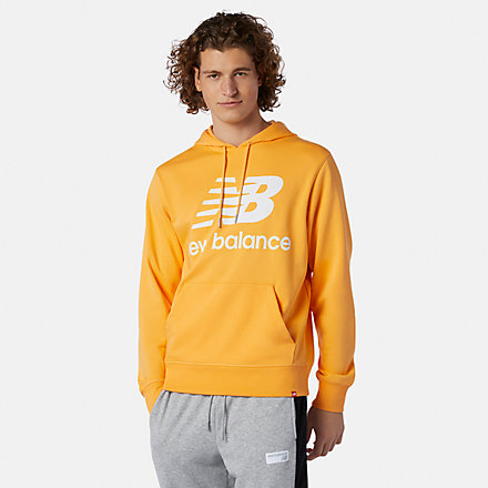 New Balance NB Essentials Stacked Logo Po Hoodie, MT03558HAB image number null