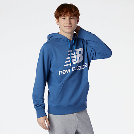 New Balance NB Essentials Pullover Hoodie, MT03558OBR image number null