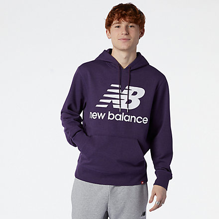New Balance NB Essentials Pullover Hoodie, MT03558PPP image number null