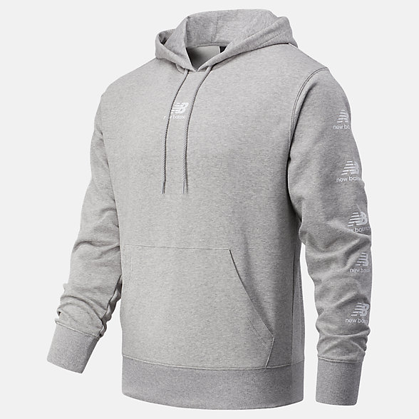 NB Essentials Stack Pack Hoodie, MT03562AG