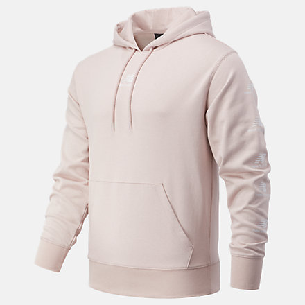 New Balance Essentials Stack Pack Hoodie, MT03562SCI image number null