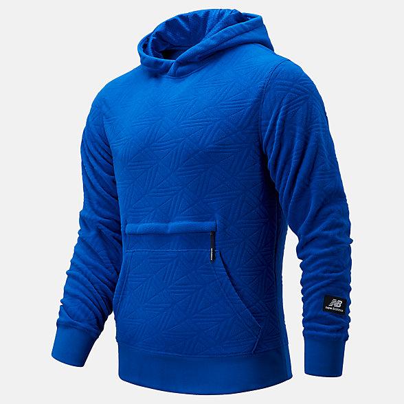 New Balance KL2休闲系列男款摇粒绒套头卫衣, MT03595TRY