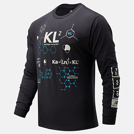 NB Kl2 Elements Of The Game Long Sleeve, MT03596PHM image number null