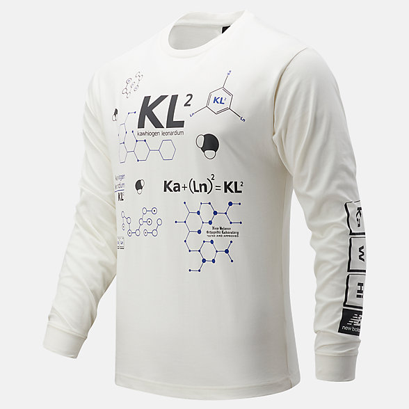 New Balance KL2休闲系列男款长袖T恤, MT03596SST