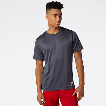 New Balance NB ISO Performance Tee, MT03785ORA image number null