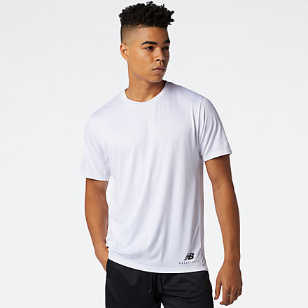 New Balance NB ISO Performance Tee, MT03785WT image number null