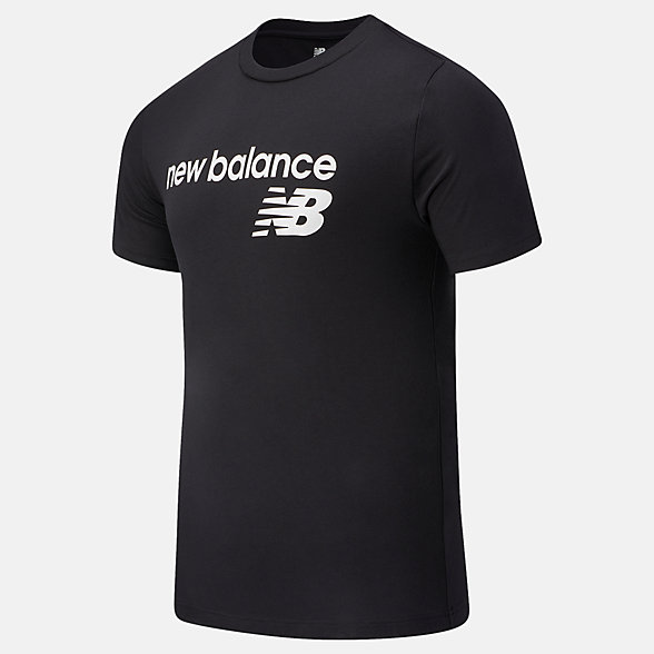 New Balance NB Classic Core Logo Tee, MT03905BK