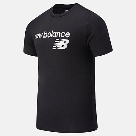 New Balance NB Classic Core Logo Tee, MT03905BK image number null