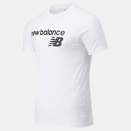 New Balance NB Classic Core Logo Tee, MT03905WT image number null