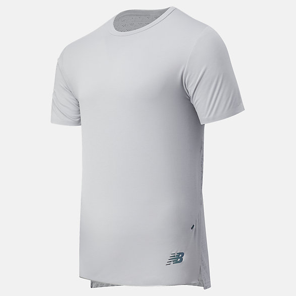New Balance Speedrift Short Sleeve Tee, MT03906LAN