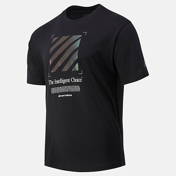 New Balance SPEEDRIFT Graphic男款短袖T恤, MT03920BK