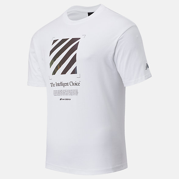 New Balance SPEEDRIFT Graphic Tee, MT03920WT