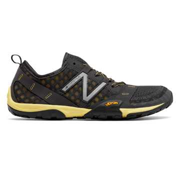 New Balance Minimus 10v1 Trail, Dark Grey with Yellow