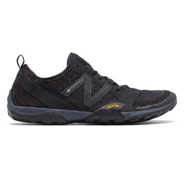 New Balance Minimus Trail 10, Black with Silver