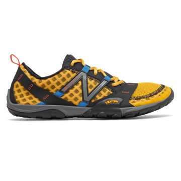 New Balance Minimus Trail 10v1, Varsity Gold with Black & Vision Blue
