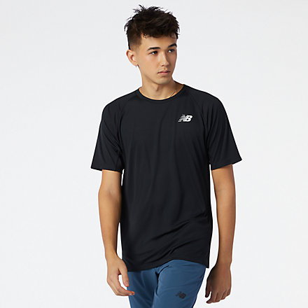 New Balance R.W.T. Tech Tee, MT11015BK image number null