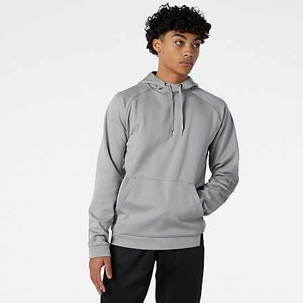 NB Tenacity Fleece Pullover, MT11021AG image number null