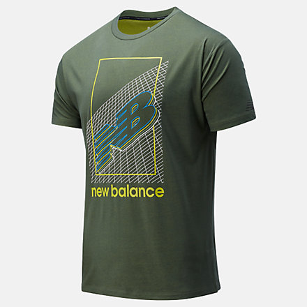 NB R.W.T. Graphic Heathertech T-Shirt, MT11062NSE image number null