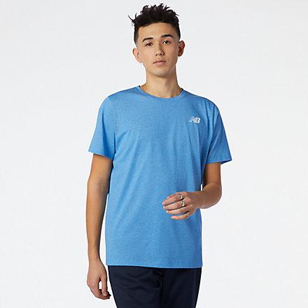 NB Heathertech T-Shirt, MT11070HLU image number null
