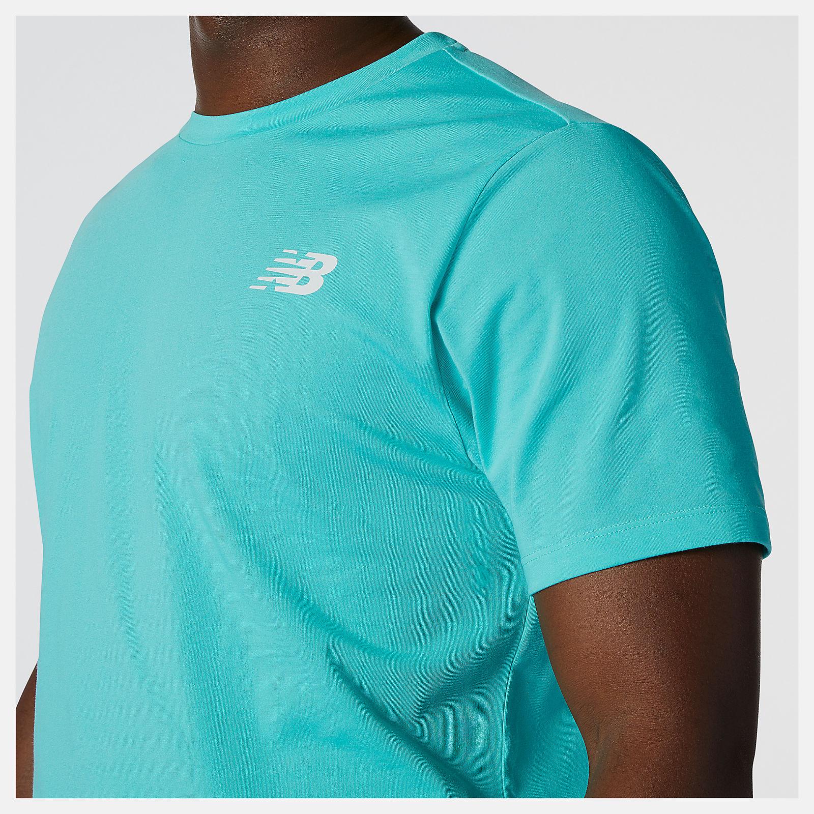 new balance heathertech t shirt