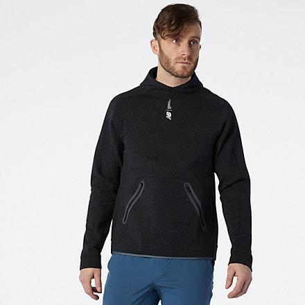 New Balance Fortitech Fleece Pullover, MT11139BKH image number null