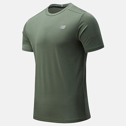 New Balance Core Run Short Sleeve, MT11205NSE image number null