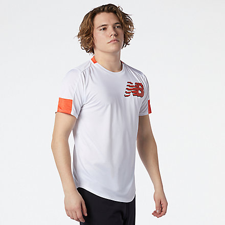 New Balance Printed Fast Flight Short Sleeve, MT11241WTH image number null