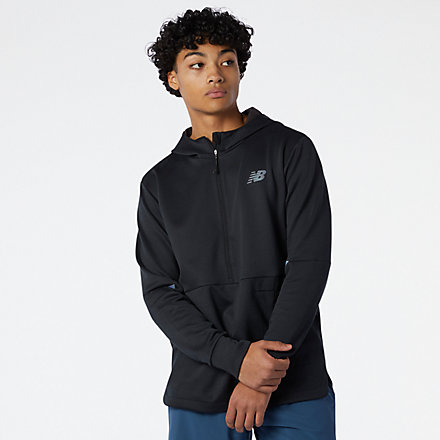 NB Q Speed Fuel Hoodie, MT11276BKH image number null