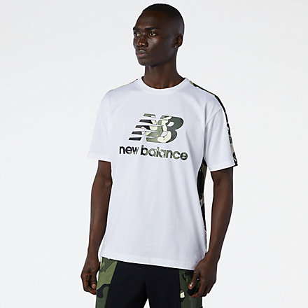 NB NB Essential Camo Tee, MT11509WM image number null