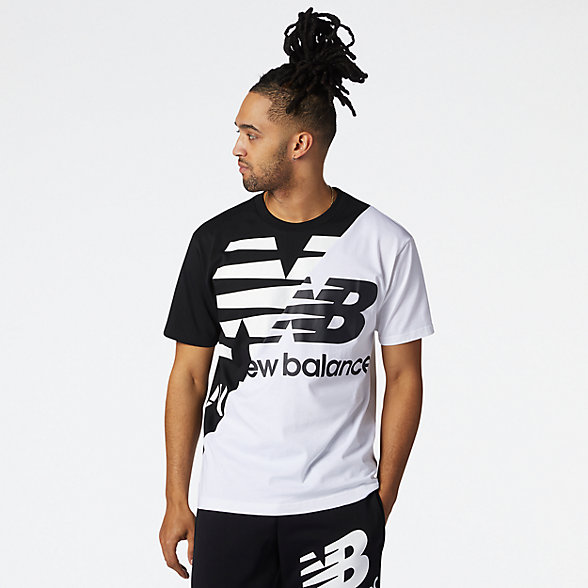NB NB Athletics Splice Tee, MT11513BM