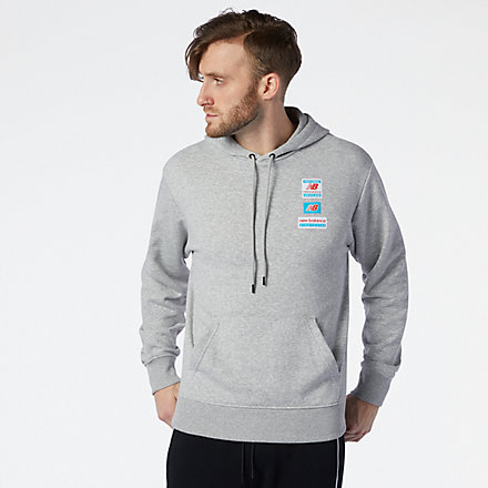 NB NB Essentials Field Day Hoodie, MT11514AG image number null