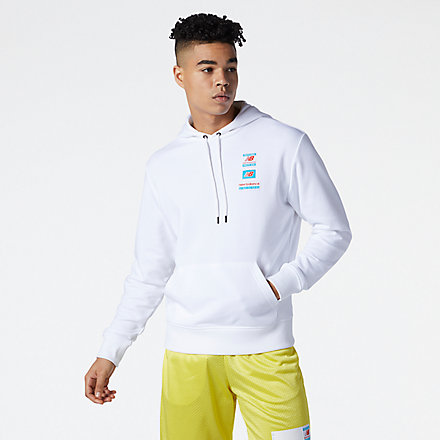 NB NB Essentials Field Day Hoodie, MT11514WT image number null